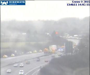 M40 J9-J10 multi vehicle RTC 1