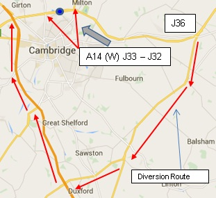 A14 Map