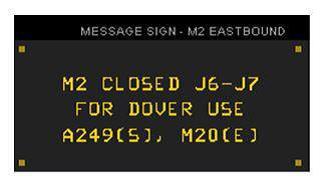 M2 J6 - J7 Closure